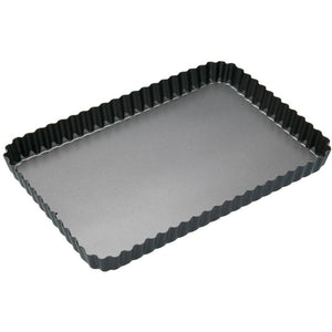 Kitchen Craft Fluted Rectangular Flan/Quiche