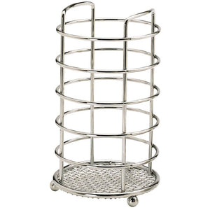 Kitchen Craft Stainless Steel Round Utensil Holder