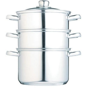 Kitchen Craft 18cm 3 Tier Steamer