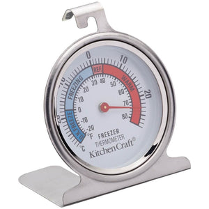 Kitchen Craft Stainless Steel Fridge Thermometer