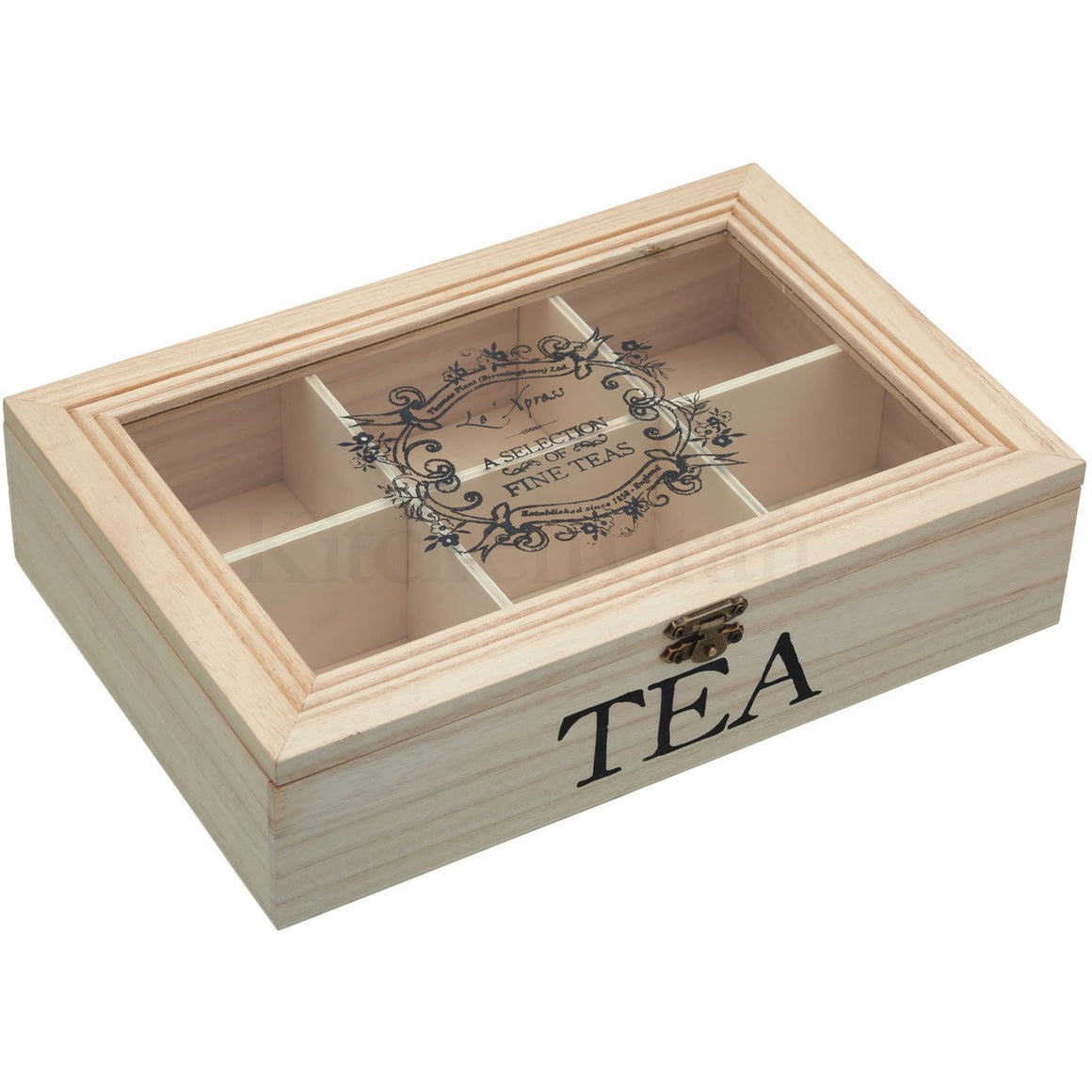 KitchenCraft Tea Storage Box