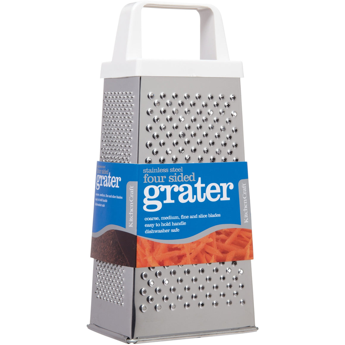 Kitchen Craft White Handle Grater