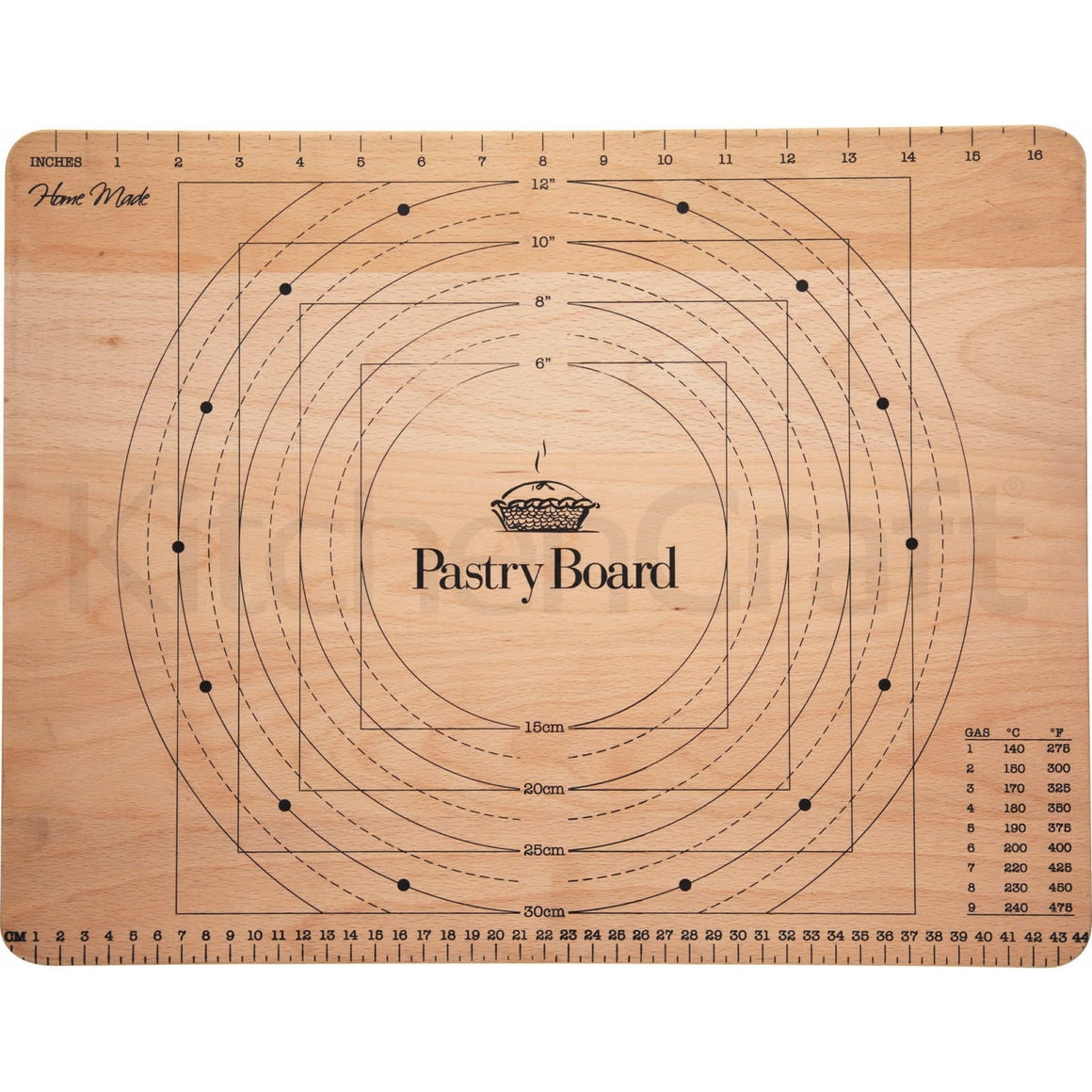 KitchenCraft Wooden Pastry Board