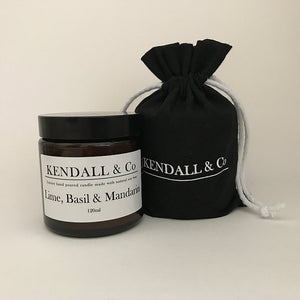 Kendall & Co Lime, Basil and Manderin - Candles & Diffusers