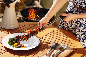 Masterclass Double Pronged Slider BBQ Skewer