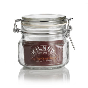 Kilner 0.5 Litre Square Storage Jar