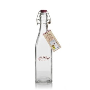 Kilner 550ml Square Clip Top Bottle