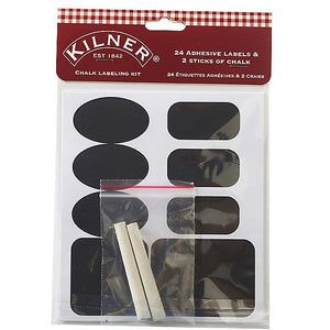 Kilner Chalk Label Kit