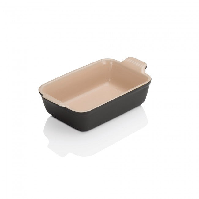 Le Creuset Satin Black Heritage Stoneware Dish - All Sizes