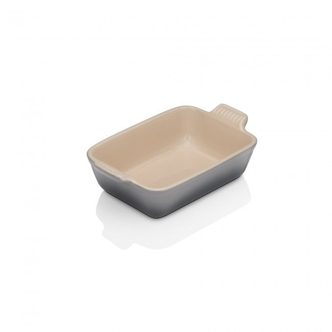 Le Creuset Flint Heritage Stoneware Dish - All Sizes