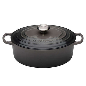 Le Creuset Signature Flint Cast Iron Oval Casserole - All Sizes