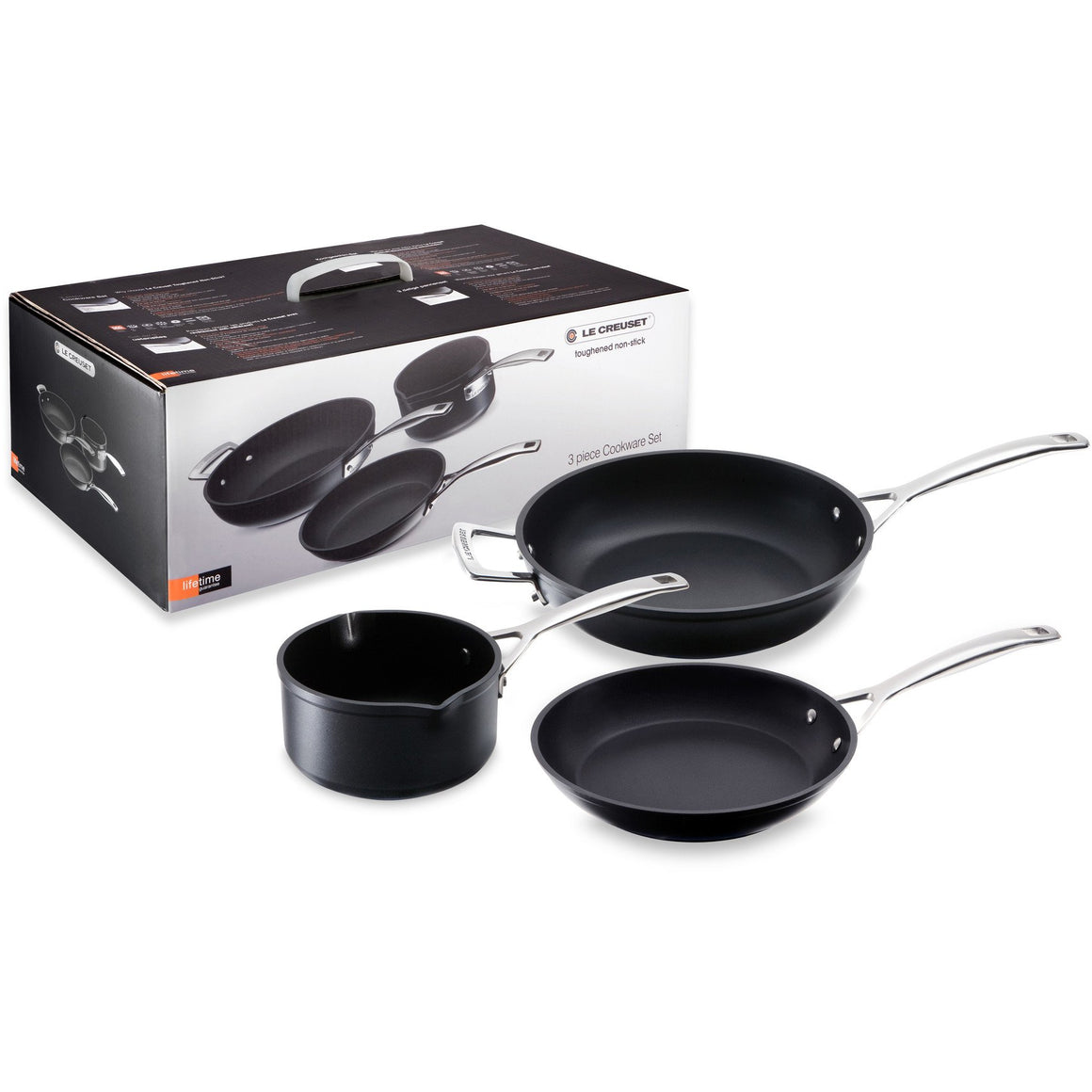 Le Creuset TNS 3 Piece Cookware Set