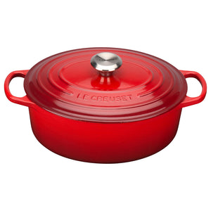 Le Creuset Signature Cerise Oval Casserole - All Sizes