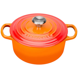 Le Creuset Signature Volcanic Cast Iron Round Casseroles - All sizes