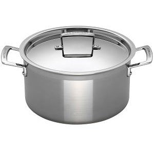 Le Creuset 3-ply Deep Casserole - All Sizes