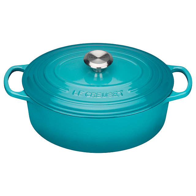 Le Creuset Signature Teal Oval Casserole - All Sizes