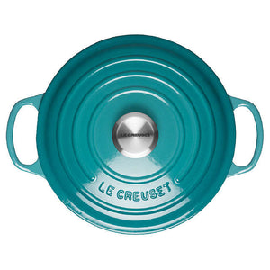 Le Creuset Signature Teal Shallow Casserole - All Sizes