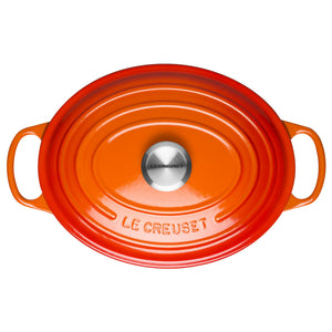 Le Creuset Signature Volcanic Cast Iron Oval Casserole - All Sizes