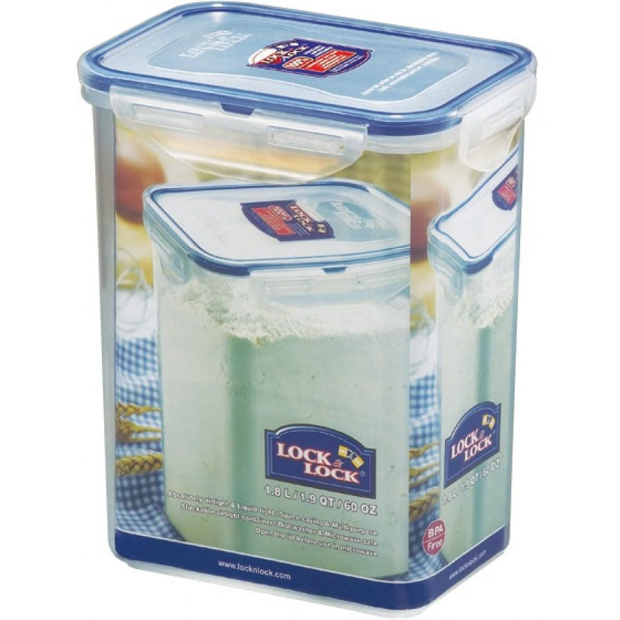 Lock & Lock 1.8 Litre Rectangular Storage Containe