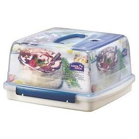 Lock & Lock 12.6 Litre Square Cake Box