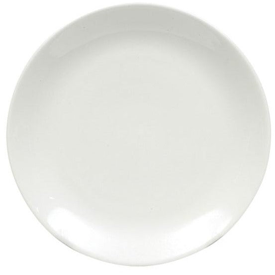 White Basics Coupe Side Plate