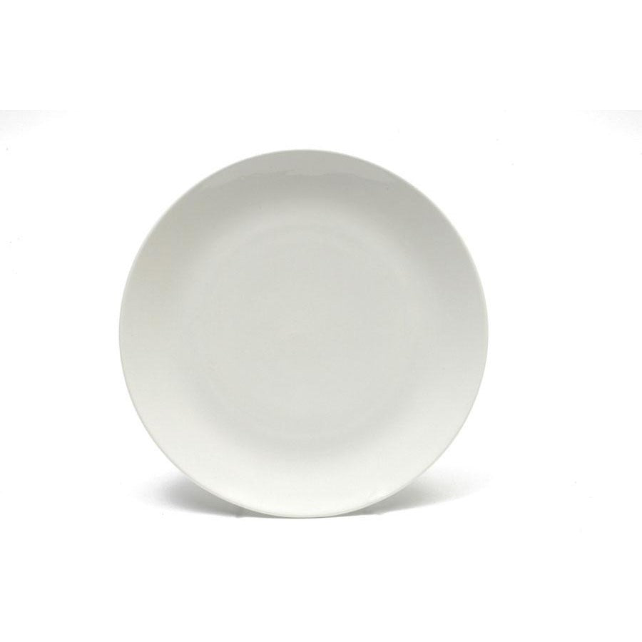 White Basics Coupe Dinner Plate