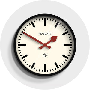 Newgate Luggage Black Clock
