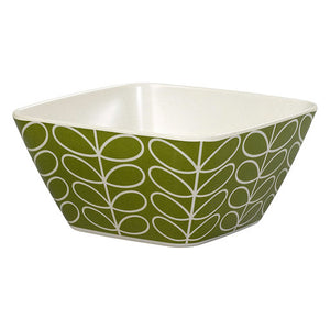 Orla Kiely Linear Stem Bamboo Salad Bowl