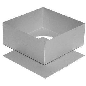 "Silverwood Square 9"" Loose Base Tin"