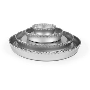 "Silverwood 9"" Crimped Flan Tin"