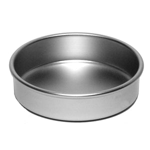 "Silverwood 8"" Solid Base Sandwich Tin"