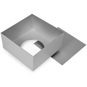 "Silverwood Square 5"" Deep Loose Base Tin"