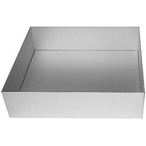 "Silverwood Square 11"" Loose Base Tin"