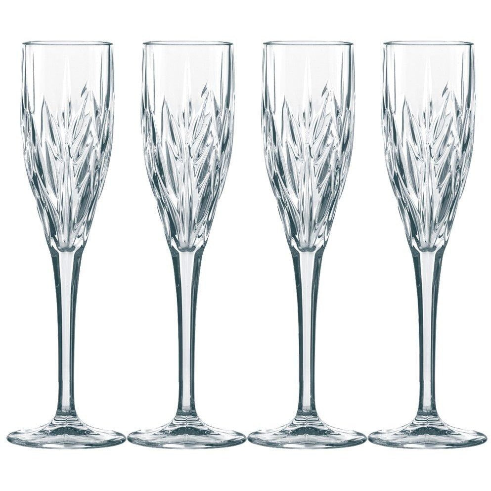 Nachtmann Set of 4 Sparkling Wine Glasses