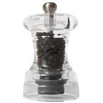 "T&G 4"" Acrylic Capstan Pepper Mill"