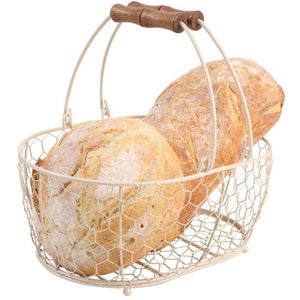 T&G Provence Cream Oval Basket