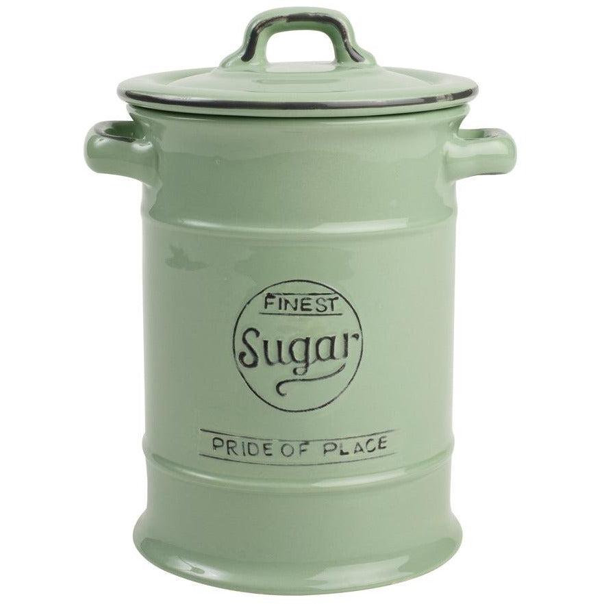 T&G Pride Of Place Green Sugar Jar