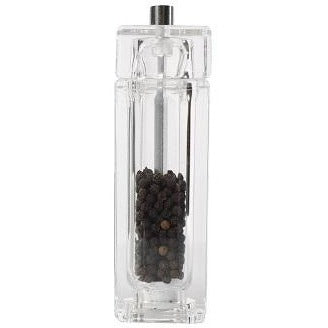 T&G Square Acrylic Pepper Mill