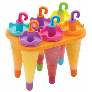 Set of 6 Umbrella Lolly Makers