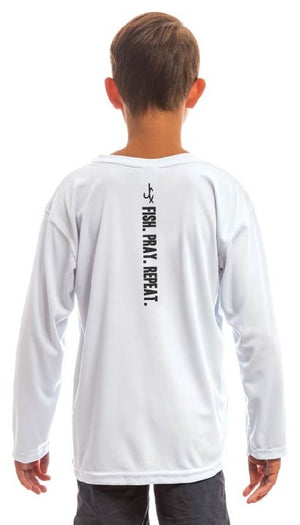 FISH. PRAY. REPEAT (YOUTH) Performance Shirt