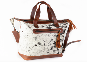 COWHIDE DAY BAG (LARGE)