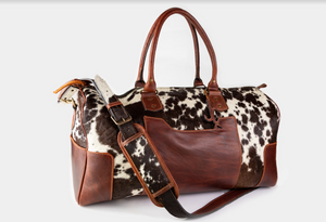 Cowhide Duffle Bag (Carry On)
