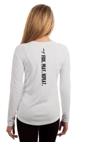 FISH. PRAY. REPEAT. (WOMEN'S) Performance Shirt