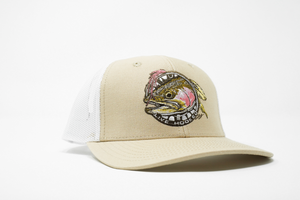 TRUCKER HAT: FLY FISHING/TROUT