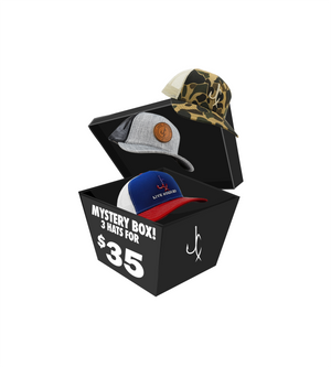 MYSTERY HAT BOX (3 HATS)