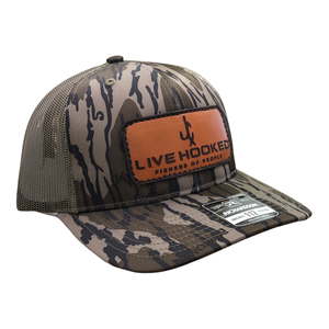TRUCKER HAT: BOTTOMLAND LEATHER