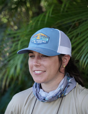 TRUCKER HAT: REDFISH TAIL