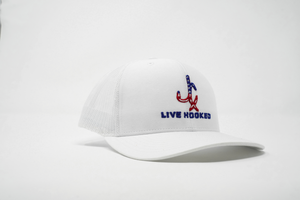Trucker Hat: USA White