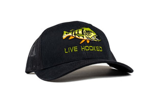 Trucker Hat: Peacock Bass