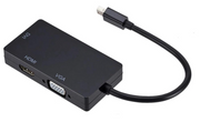3-In-1 Mini Displayport (Thunderbolt 2) Naar VGA & HDMI & DVI Monitor Adapter - Qost